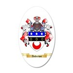 Andrews 20x12 Oval Wall Decal
