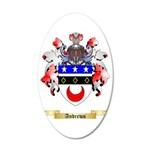 Andrews 35x21 Oval Wall Decal