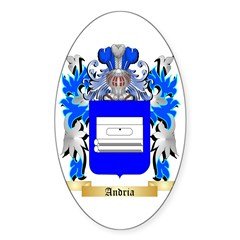 Andria Sticker (Oval 10 pk)
