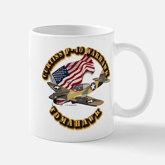 Aircraft - P40 Warhawk Mug