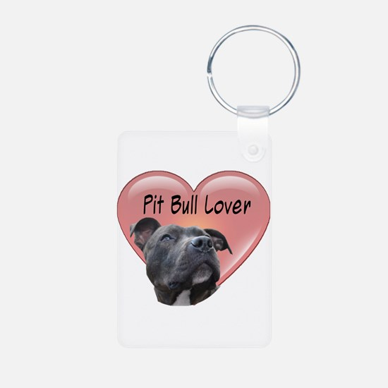 Pit Bull Lover Keychains