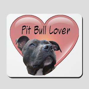 Pit Bull Lover Mousepad