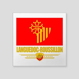 Languedoc-Roussillon (Flag 10) Square Sticker