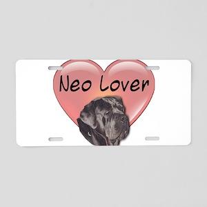 Neo Lover Aluminum License Plate