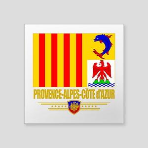 Provence-Alpes-Cote (Flag 10) Square Sticker 3