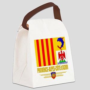 Provence-Alpes-Cote (Flag 10) Canvas Lunch Bag