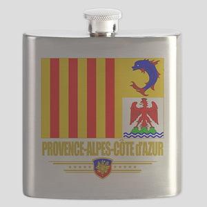 Provence-Alpes-Cote (Flag 10) Flask