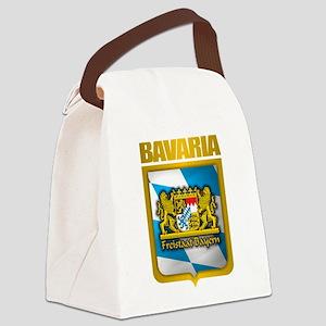 Bavarian Gold Canvas Lunch Bag