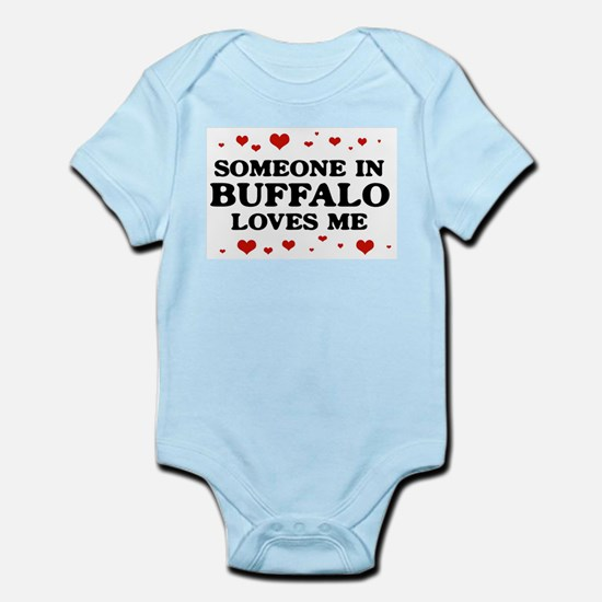Loves Me in Buffalo Body Suit