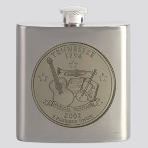 Tennessee Quarter 2002 Basic Flask