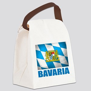 Bavaria Flag COA Canvas Lunch Bag