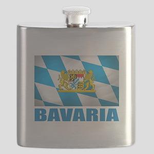 Bavaria Flag COA Flask
