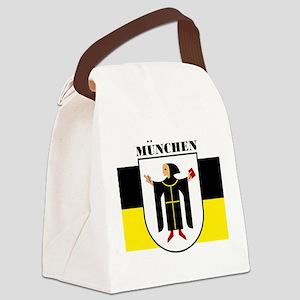 Munich (blk) Canvas Lunch Bag