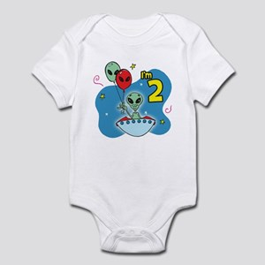 UFO 2nd Birthday Infant Creeper
