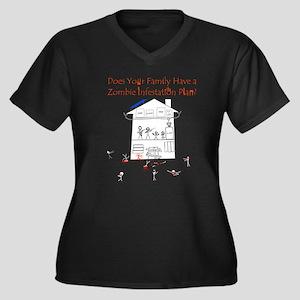 zombie_survival_dark Plus Size T-Shirt