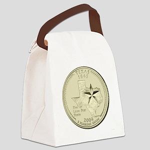Texas Quarter 2004 Basic Canvas Lunch Bag