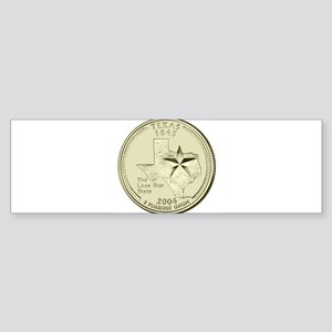 Texas Quarter 2004 Basic Sticker (Bumper)