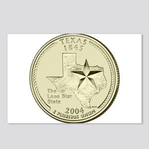 Texas Quarter 2004 Basic Postcards (Package of 8)