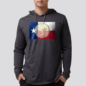 Texas Quarter 2004 Mens Hooded Shirt