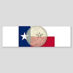 Texas Quarter 2004 Sticker (Bumper)