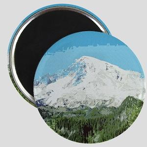 Mt. Rainier #2 Magnet