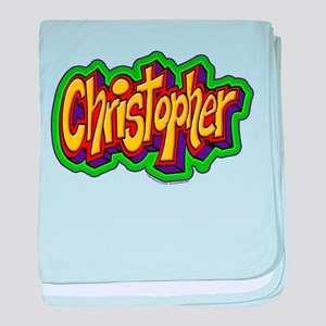 Christopher Personalized baby blanket