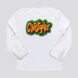 Christopher Personalized Long Sleeve Infant T-Shir