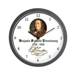 Ben Franklin Tercentenary Wall Clock