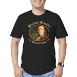 Ben Franklin Tercentenary Men's Fitted T-Shirt (da