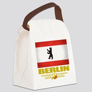 Berlin (Flag 10) Canvas Lunch Bag