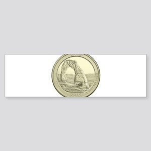 Utah Quarter 2014 Basic Sticker (Bumper)