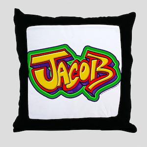 Jacob Personalized Throw Pillow