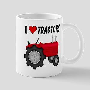 I Love (Heart) Tractors Mug