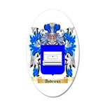 Andrieux 35x21 Oval Wall Decal