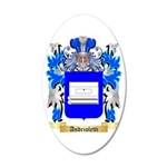 Andrioletti 35x21 Oval Wall Decal