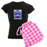 Andrioli Women's Dark Pajamas
