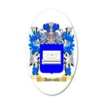 Andriolli 35x21 Oval Wall Decal