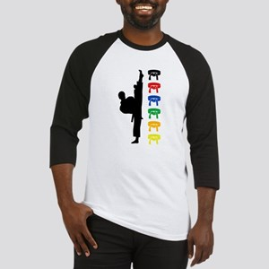 Karate Boy Baseball Tee