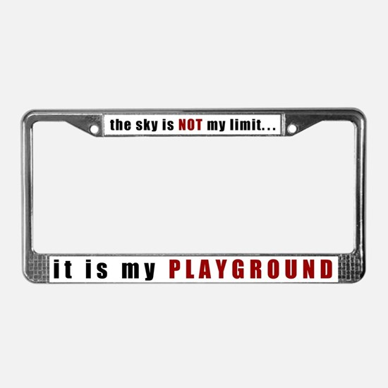 Not My Limit License Plate Frame