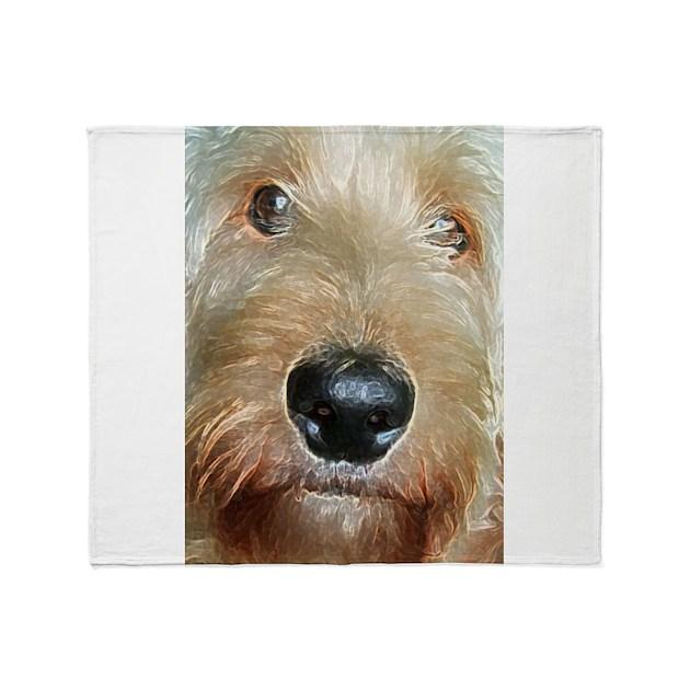 Squishy Nose : big black squishy nose.jpg Throw Blanket by valerievalera