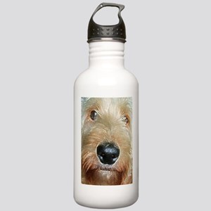 big black squishy nose Stainless Water Bottle