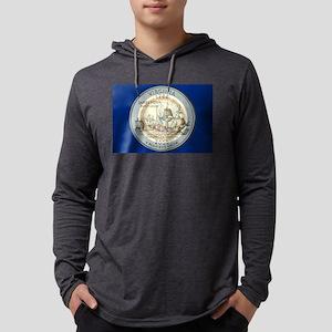 Virginia Quarter 2000 Mens Hooded Shirt