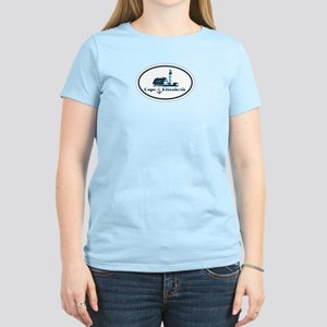 Cape Elizabeth ME - Oval Design. Women's Light T-S