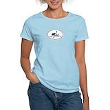 Portland me lighthouse lobster t Women's Light T-Shirt