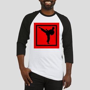 Karate Baseball Tee