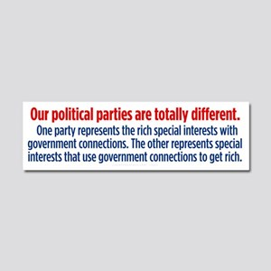 Difference Between Parties Car Magnet 10 x 3
