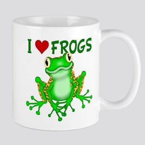 I Love (Heart) Frogs Mug