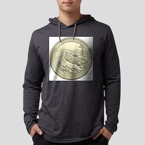 Virginia Quarter 2014 Basic Mens Hooded Shirt