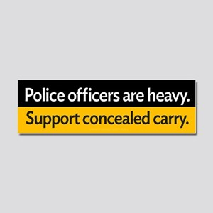 Concealed Carry Car Magnet 10 x 3