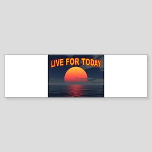 LIVE WELL Sticker (Bumper)